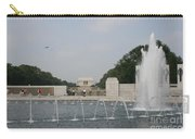 Lincoln Memorial And Fountain - Washington Dc Carry-all Pouch
