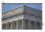 Lincoln Memorial Columns  Carry-all Pouch by Susan Candelario