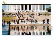 Lincoln Memorial Carry-all Pouch by Greg Fortier