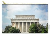 Lincoln Memorial Side View Carry-all Pouch