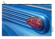 Lincoln Zephyr Carry-all Pouch