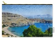 Lindos Beach Carry-all Pouch