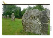 Line Of Avebury Stones Carry-all Pouch