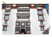 Line Of Pilgrims And Tourists Entering Former Living Quarters Of Dalai Lama In Potala Palace-tibet Carry-all Pouch