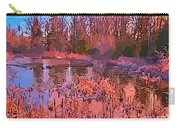 Linear Abstraction Of Pond Carry-all Pouch