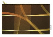 Lines And Shadows Carry-all Pouch