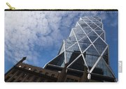 Lines Triangles And Cloud Puffs - Hearst Tower In New York City Carry-all Pouch