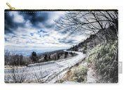 Linn Cove Viaduct Winter Scenery Carry-all Pouch
