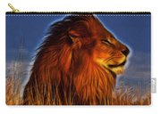 Lion - King Of Animals Carry-all Pouch