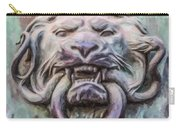 Lion And Snake Carry-all Pouch