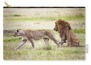 Lion Couple Carry-all Pouch