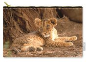 Lion Cub Panthera Leo Carry-all Pouch
