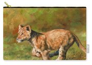 Lion Cub Running Carry-all Pouch