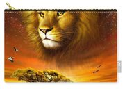 Lion Dawn Carry-all Pouch by Adrian Chesterman