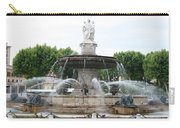 Lion Fountain - Aix En Provence Carry-all Pouch