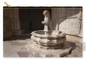 Lion Fountain Jeronimos Monastery In Lisbon Carry-all Pouch
