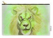 Lion Green Carry-all Pouch