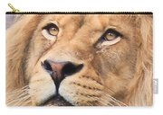 Lion In Deep Thought Carry-all Pouch