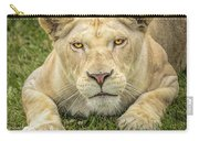 Lion In The Grass Carry-all Pouch