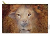Lion Lamb Face Carry-all Pouch