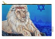 Lion Of Judah Before Jeruselum Carry-all Pouch