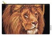 Lion Of Judah - Menorah Carry-all Pouch