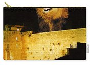 Lion Of Judah Roar From Zion Carry-all Pouch