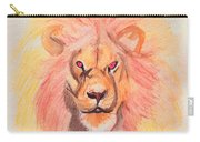Lion Orange Carry-all Pouch