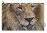 Lion Portrait Panting Carry-all Pouch