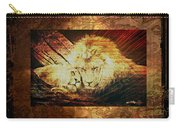 Lion Tapestry - Soulmates Carry-all Pouch