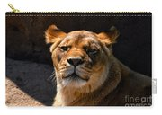 Lioness Hey Are You Looking At Me Carry-all Pouch