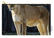 Lioness Carry-all Pouch by Frozen in Time Fine Art Photography