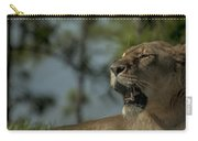 Lioness Voicing Opinion Carry-all Pouch
