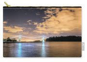 Lion's Gate Bridge Vancouver At Night Carry-all Pouch