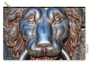 Lions Head Knocker Carry-all Pouch