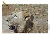 Lions Head Carry-all Pouch