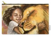 Lion's Kiss Carry-all Pouch by Tamer and Cindy Elsharouni