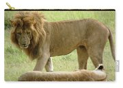 Lions On The Masai Mara Carry-all Pouch