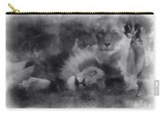 Lions Photo Art 01 Carry-all Pouch