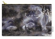Lions Photo Art 02 Carry-all Pouch