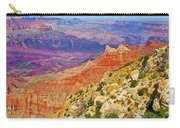 Lipan Point View On East Side Of South Rim Of Grand Canyon-arizona   Carry-all Pouch
