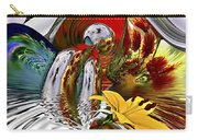 Kissing Flowers Carry-all Pouch