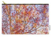 Liquidambar Square Abstract Carry-all Pouch