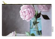 Lisa's Peonies Carry-all Pouch