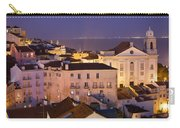 Lisbon At Night In Portugal Carry-all Pouch