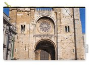 Lisbon Cathedral In Portugal Carry-all Pouch