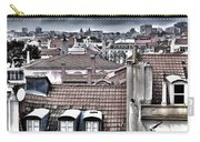 Lisbon Rooftops I Carry-all Pouch by Marco Oliveira