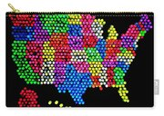 Lite Brited States Of America Carry-all Pouch