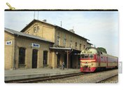 Lithuania. Silute Train Station. 2008 Carry-all Pouch
