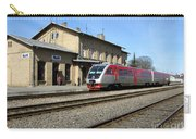 Lithuania. Silute Train Station. 2009 Carry-all Pouch